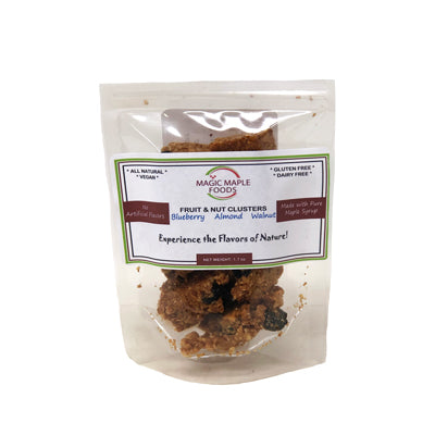 Blueberry, Almond &Walnut Fruit&Nut Clusters 1.7oz