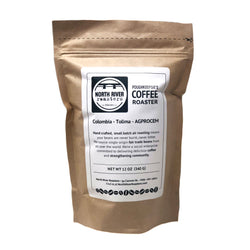 Organic Whole Bean Colombian Tolima Coffee  12oz