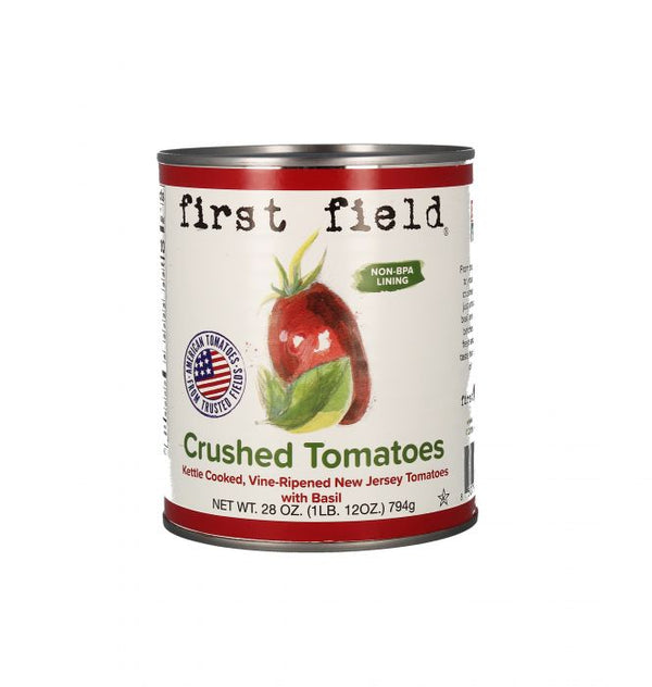 Crushed Tomatoes, With Basil Case of 12 (28oz Cans)
