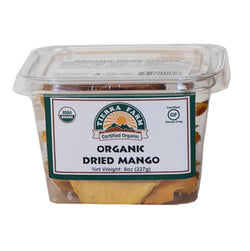 Organic Dried Mango Slices 8oz
