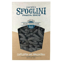 Organic Cuttlefish Ink Spaccatelli 5lb bag