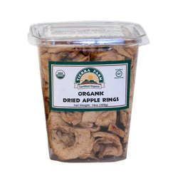 Organic Dried Apple Rings 14oz
