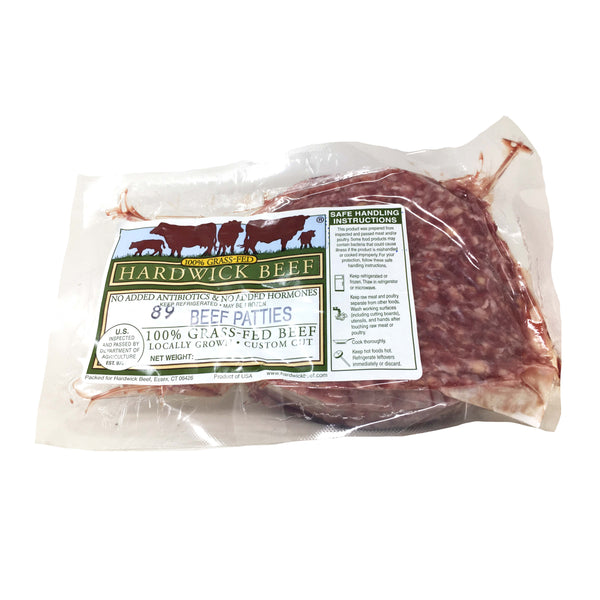 Grass-Fed Ground Beef Patties  1lb