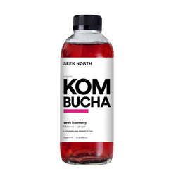 Organic Seek Harmony Kombucha 14oz Case of 12