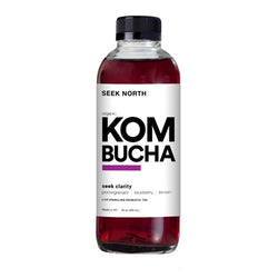 Organic Seek Clarity Kombucha 14oz Case of 12