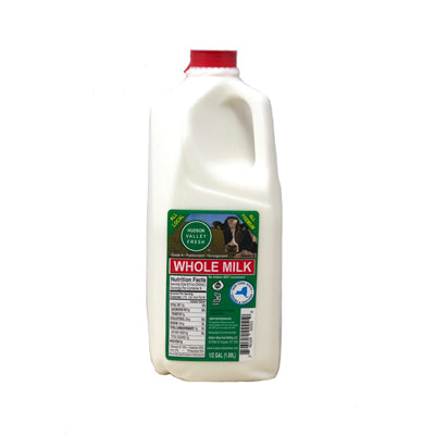Whole Milk  1/2 Gallon