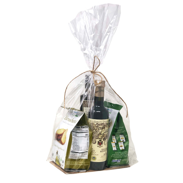 The Imported Olive Oil & Vinegar Gift Bag