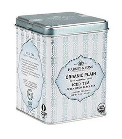 Organic Plain Black Fresh Brew Iced Tea  6 (2 Quart Tea Bags)