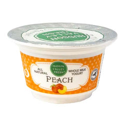 Fruit on the Bottom Peach Yogurt 6oz (3 Containers)