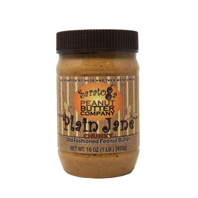 Plain Jane Chunky Peanut Butter 16oz