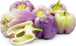 Purple Bell Peppers 2 each