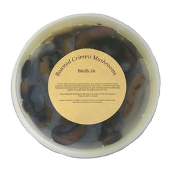Marinated Slow Roasted Crimini Mushrooms 1lb