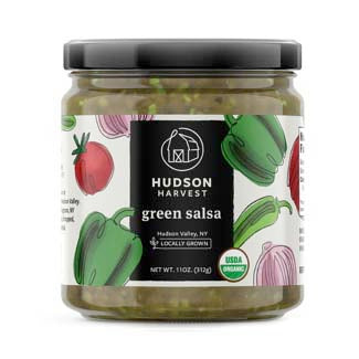 Organic Green Salsa  11oz