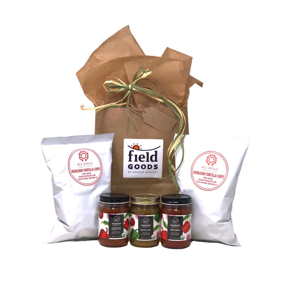 Organic Chips & Salsa Gift Bag