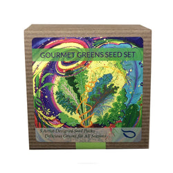 Gourmet Greens Boxed Seed Collection 5 Packs