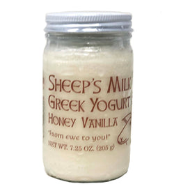 Honey Vanilla Sheep's Milk Greek Yogurt 7.25oz