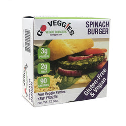 Spinach Veggie Patties (2) 12.8oz Packages