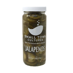 Raw Fermented Probiotic Jalapenos 12oz