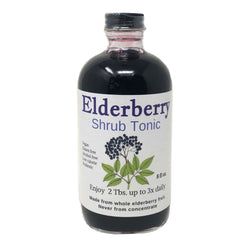 Elderberry Shrub Tonic 8oz
