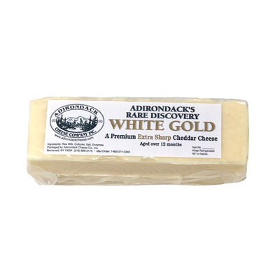 Cheese, White Gold Extra Sharp Cheddar 8oz