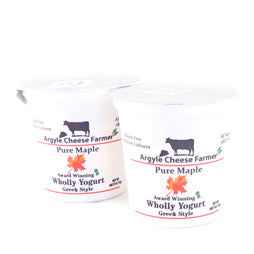 Greek Maple Yogurt 5oz (2 Containers)