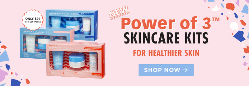 Power of 3 skincare kits