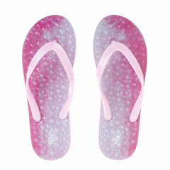 Siam Flip Flops with Pink Straps