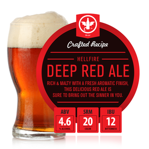 Hellfire Deep Red Ale Recipe Kit