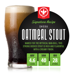 1 Gal. Shedu Oatmeal Stout Recipe Kit
