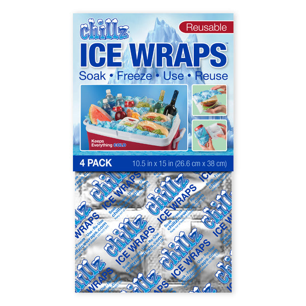 Chillz™ Ice Wraps (4 pack)