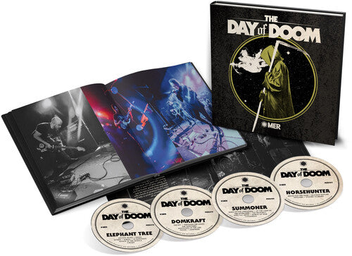 Day Of Doom Live (Hardcover Book Inc. 4 CD)