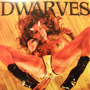 Dwarves ‎– Lucifer's Crank (CLEAR VINYL) PRE-OWNED, OPEN IN SHRINK WRAP, LIKE NEW.
