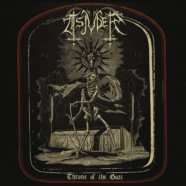 Tsjuder ‎– Throne Of The Goat