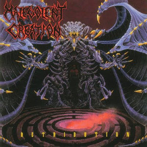 Malevolent Creation ‎– Retribution (SPLATTER VINYL)