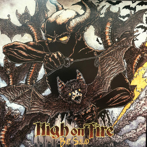 High On Fire ‎– Bat Salad (GREEN GLOW IN THE DARK IMPORT)
