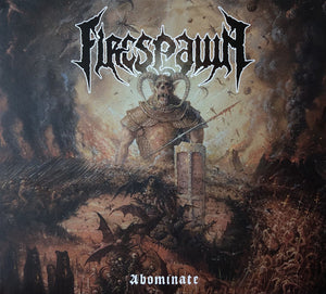 Firespawn ‎– Abominate (WITH CD)