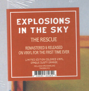 Explosions In The Sky ‎– The Rescue (COLOR VINYL)Q