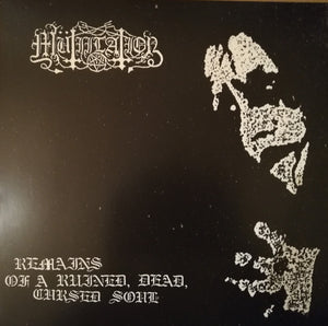 Mutiilation ‎– Remains Of A Ruined, Dead, Cursed Soul (Black Galaxy Clear)