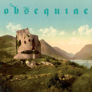 Obsequiae ‎– The Palms Of Sorrowed Kings  (Bone/Aqua Blue Galaxy)
