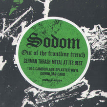 Load image into Gallery viewer, Sodom ‎– Out Of The Frontline Trench (COLOR VINYL)
