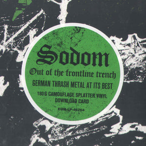Sodom ‎– Out Of The Frontline Trench (COLOR VINYL)