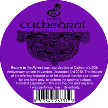 Load image into Gallery viewer, Cathedral ‎– Return To The Forest (Live) (COLOR VINYL)