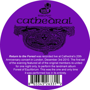 Cathedral ‎– Return To The Forest (Live) (COLOR VINYL)