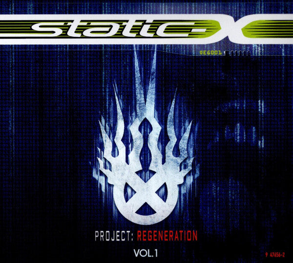 Static-X ‎– Project: Regeneration Vol. 1 CD