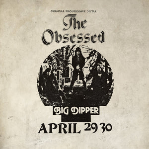 The Obsessed ‎– Live At Big Dipper (COLOR VINYL)
