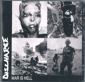 Discharge ‎– War Is Hell (COLOR VINYL)
