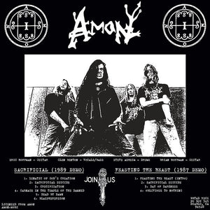 Amon ‎– Sacrificial/Feasting The Beast (PICTURE DISC)