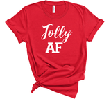 Jolly AF Christmas Shirt