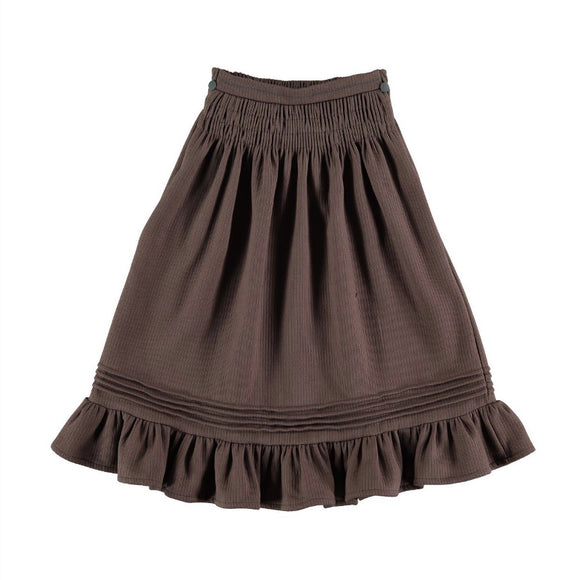 Belle Chiara Smocked Skirt
