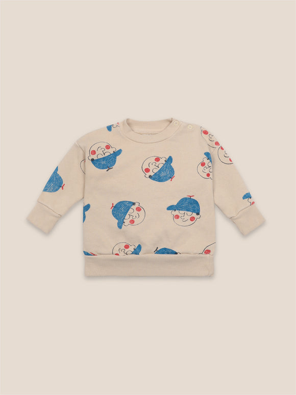 BOBO CHOSES BOY ALL OVER SWEATSHIRT (6M-24M) - Klade Children's Boutique